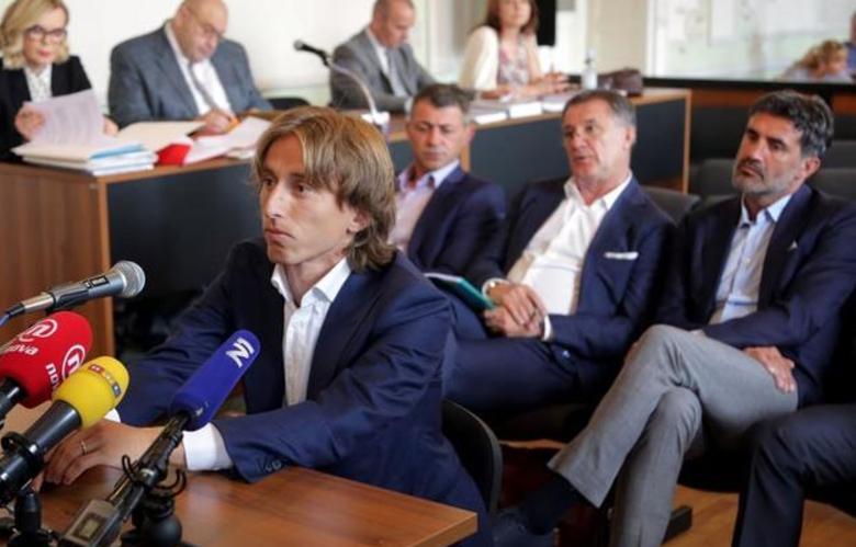 莫德里奇涉嫌作伪证,已被克罗地亚检方调查