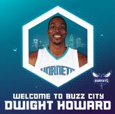 黄蜂官方晒图:欢迎霍华德的到来