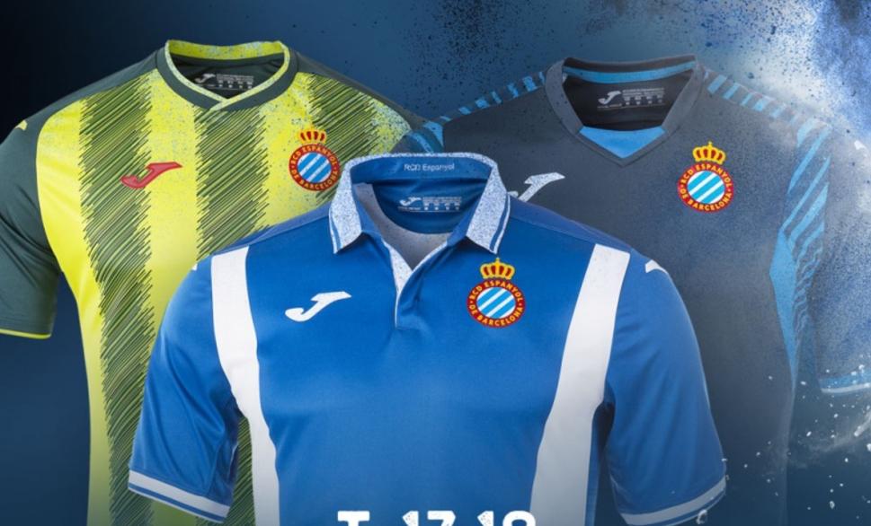 官方:西班牙人改革球衣,放弃间条衫设计