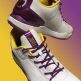 火速上线!朗佐-鲍尔紫金签名鞋开始预售