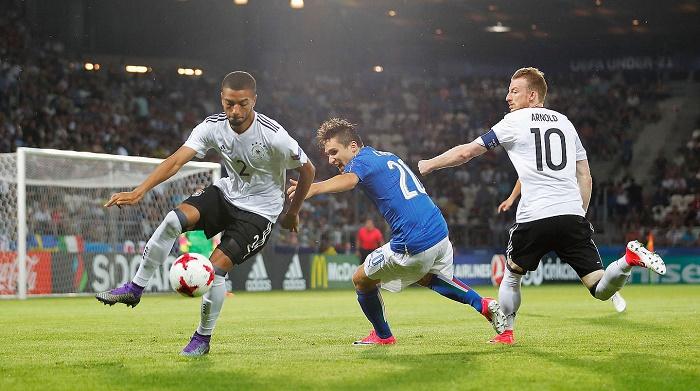欧青赛受欢迎!522万德国球迷电视机前观看德国关键战