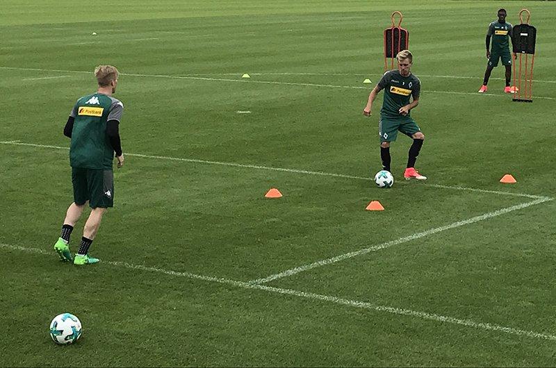为新赛季备战,赫尔曼和温特提前归队开始训练