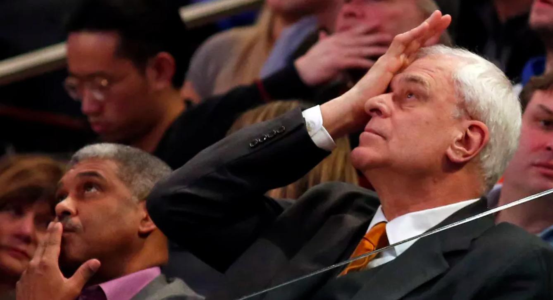 尼克斯老板多蘭正權衡總裁菲爾-傑克遜的未來