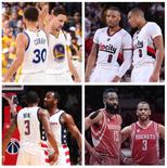 媒体晒图:哪对组合是NBA的最佳后场?