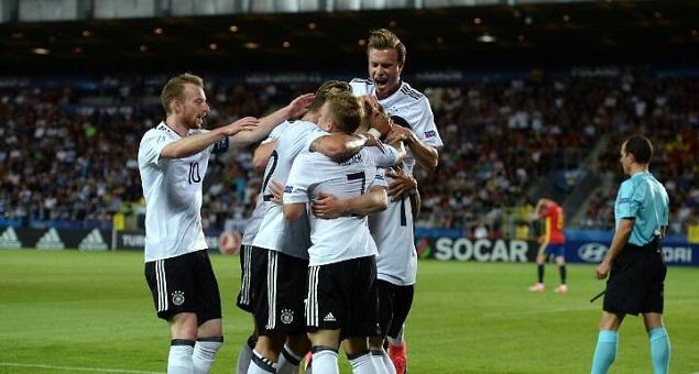 维泽尔破门制胜,德国1-0西班牙问鼎欧青赛冠军