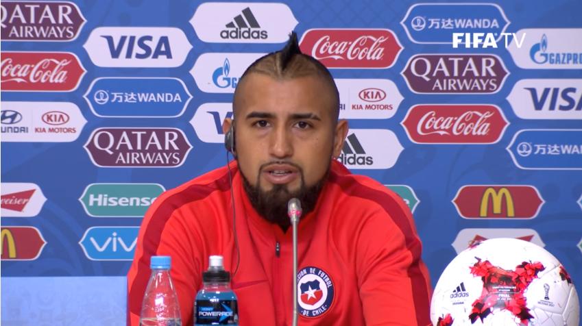 比达尔:只要赢下德国队,智利就是世界最佳球队