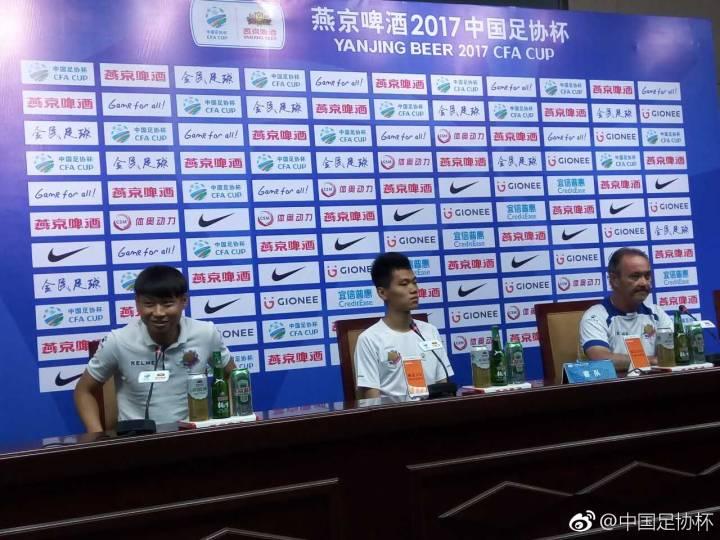 申鑫主帅:苏宁是强队但不会畏惧他们,本场目标少丢球