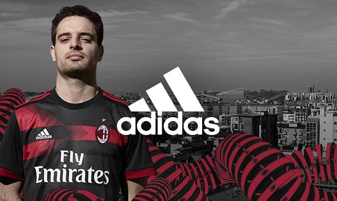 官方:AC米兰发布新赛季第二客场球衣