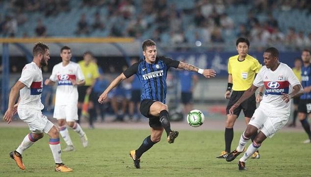 马里奥助攻约维蒂奇破门,国际米兰1-0里昂