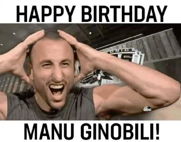 馬刺官方:祝世上獨一無二的吉諾比利生日快樂