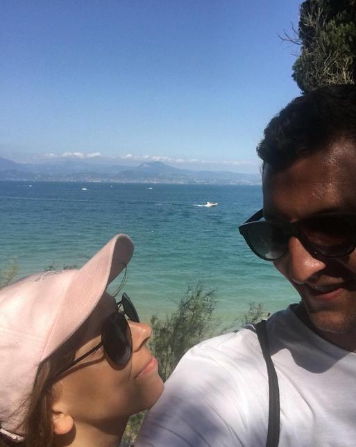 風景宜人!齊普澤和女友前往意大利度假