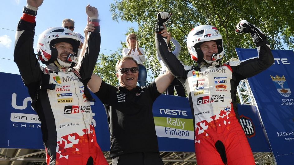 WRC芬兰站:土著小将的首次胜利
