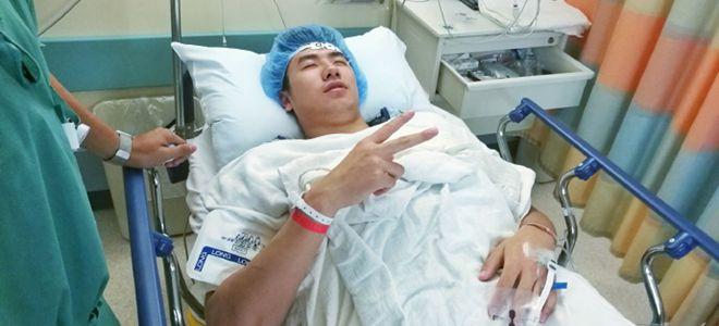 邹雨宸晒图:手术顺利完成,谢谢大家关心