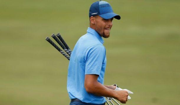 库里的表现赢得许多职业高尔夫球手好评