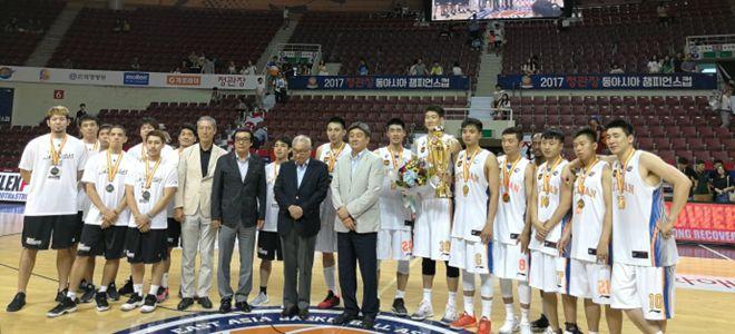 东亚篮球锦标赛:四川蓝鲸队三战全胜夺得冠军