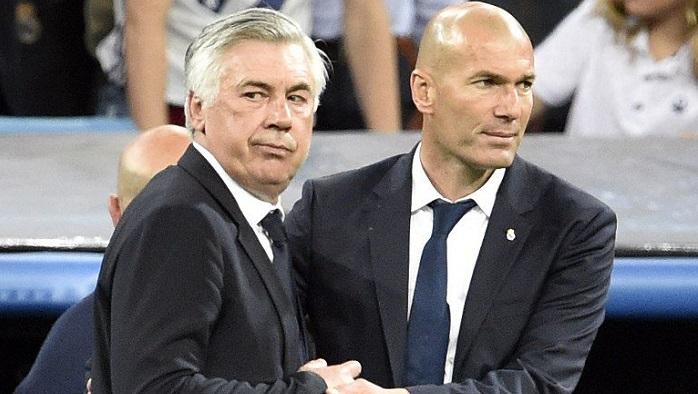 安切洛蒂:拜仁皇马巴萨等七支球队将竞争欧冠冠军