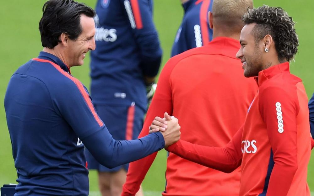 埃梅里:内马尔本轮联赛首发;姆巴佩还是摩纳哥球员