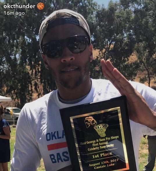 喬什-休斯蒂斯奪得首屆喬治名人釣魚大賽冠軍