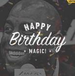 湖人官方祝魔术师约翰逊58岁生日快乐