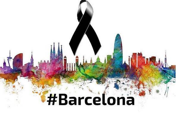 坎特為巴塞羅那恐怖襲擊事件遇難者祈禱