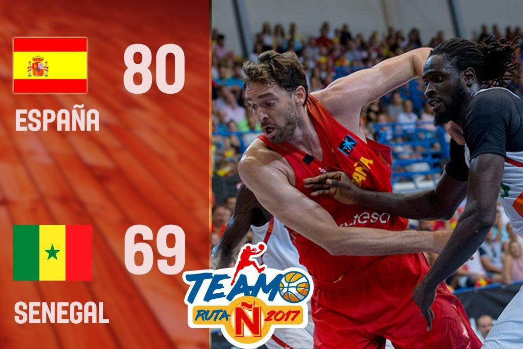西班牙熱身賽勝塞內加爾,盧比奧得到14分