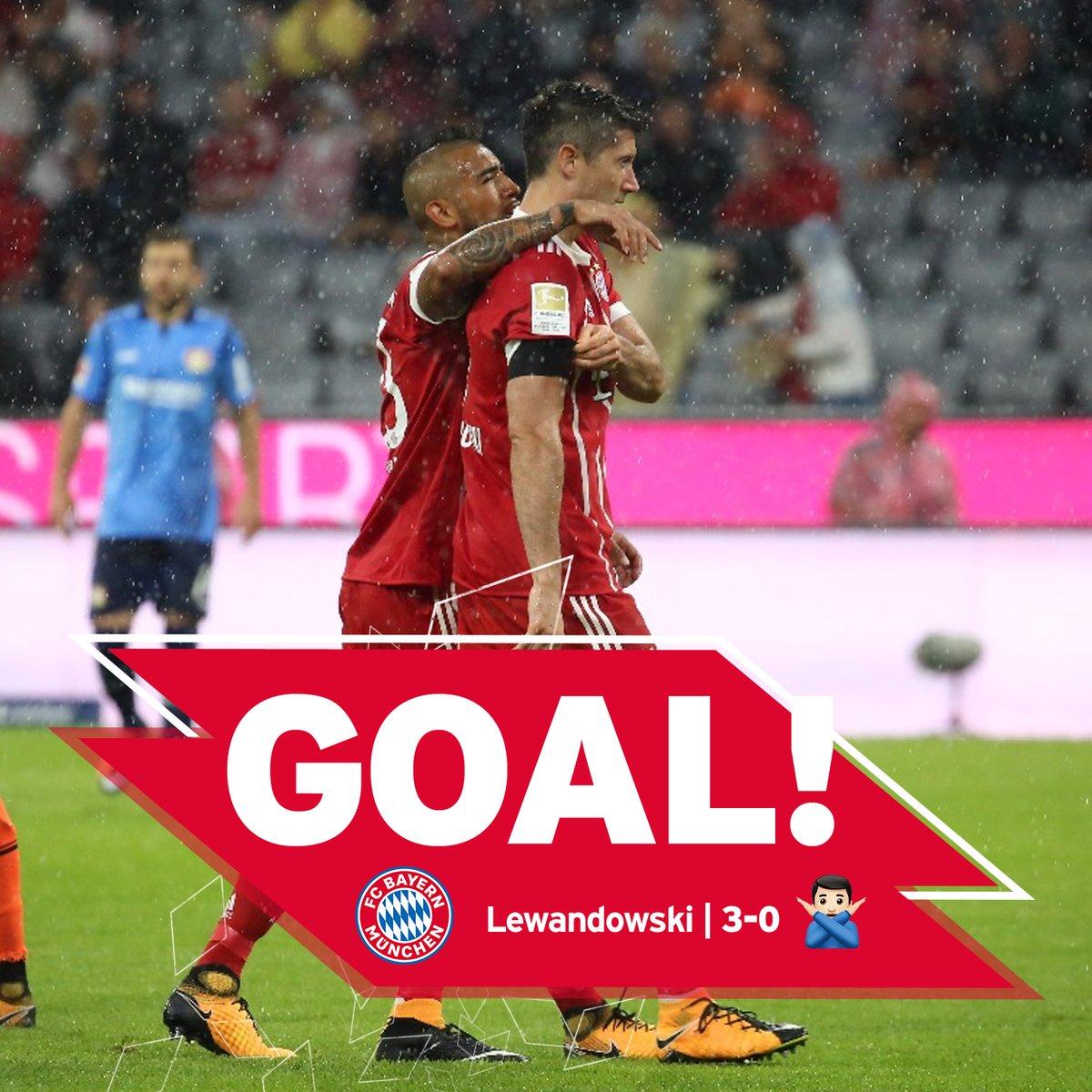 GIF:莱万点球命中,拜仁3-0勒沃库森