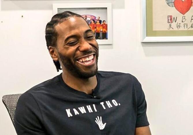 馬努:倫納德過去兩天笑得比之前六個賽季都多