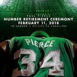 凯尔特人官方发布皮尔斯球衣退役仪式宣传海报