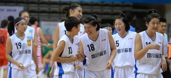 四川青年女篮进全运会四强,创队史最好成绩