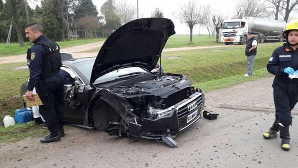 梅西哥哥在阿根廷遭遇车祸,所幸无人员伤亡