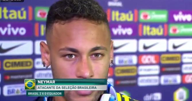 内马尔:库蒂尼奥非常悲伤,但他的进球帮助我们取胜