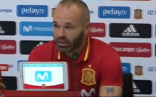 伊涅斯塔:阿森西奥的高光对西班牙足球来说是好消息