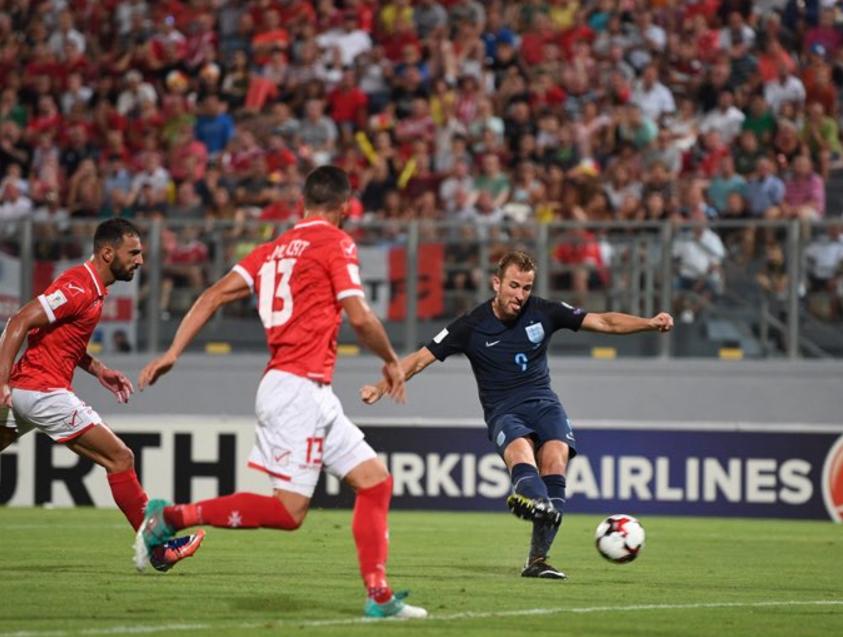 GIF:凯恩破门,英格兰1-0马耳他