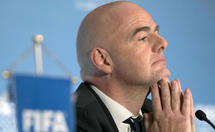 英格兰或再失种子队名额,国际足联考虑改进积分排名系统