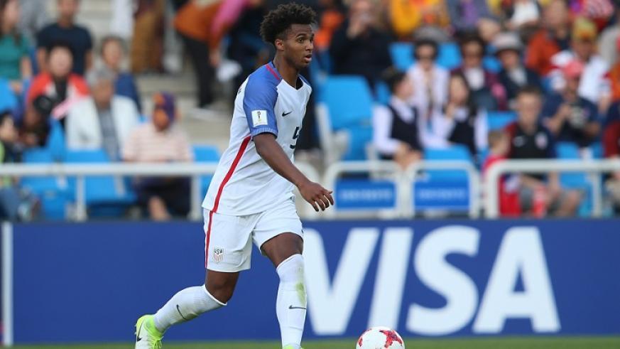 美媒:曼城将签下美国U20国脚帕尔默-布朗