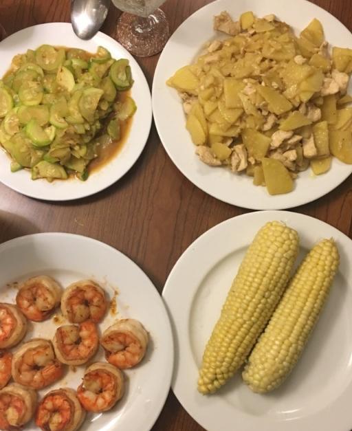 翟晓川学会做饭:某人不会挨饿了