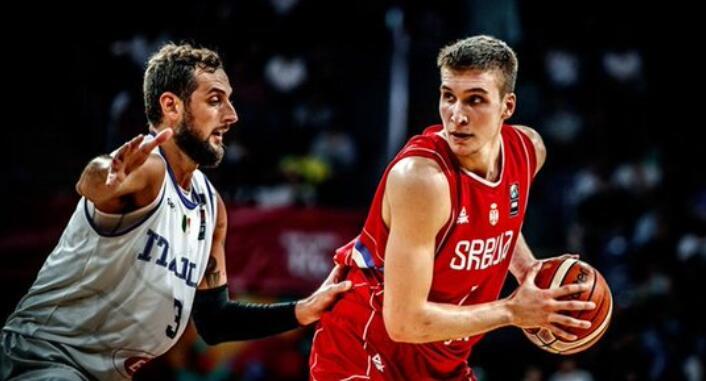 波格丹22分6板,塞尔维亚击败意大利晋级半决赛