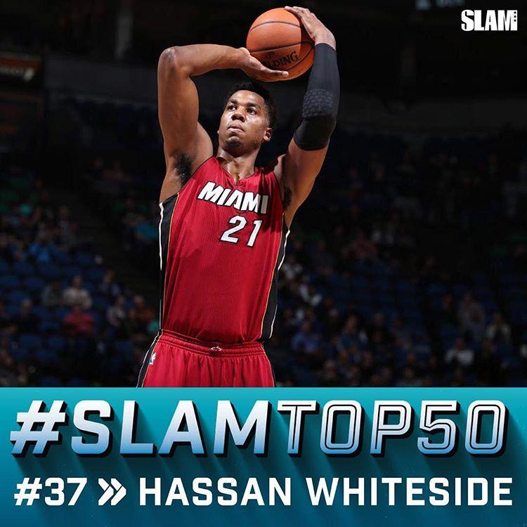 SLAM将哈桑排在第37位:他是联盟最好中锋吗