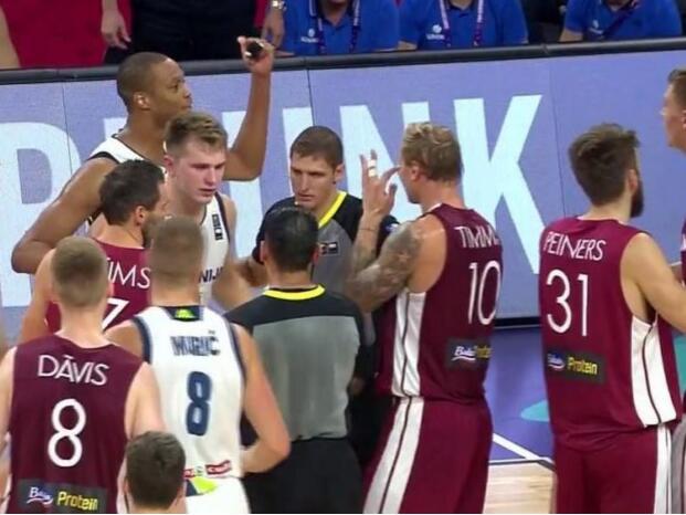 FIBA并没有针对安东尼-兰多夫追加禁赛处理