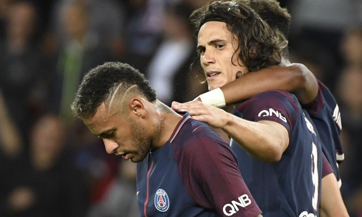 法媒:内马尔从来没有要求过卡瓦尼离开巴黎
