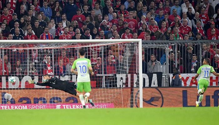 沃尔夫斯堡时隔16年再次在拜仁主场取得积分