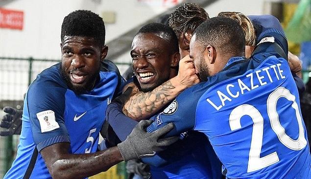世预赛:马图伊迪破门坎特伤退,法国1-0保加利亚