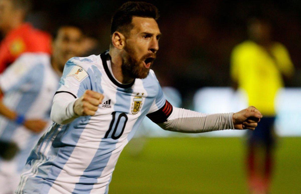 天神下凡!梅西帽子戏法助阿根廷直接晋级世界杯