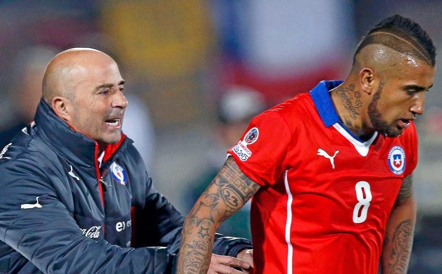 曝桑保利曾预测智利被淘汰:球队纪律涣散,比达尔嗜酒如命