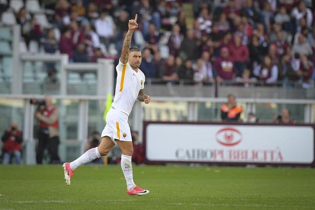 科拉罗夫任意球制胜,罗马客场1-0都灵