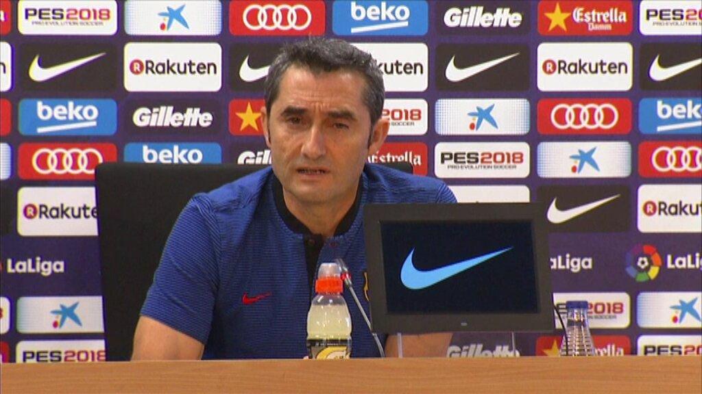 巴尔韦德:比起库蒂尼奥来不来,我更关心B队的球员