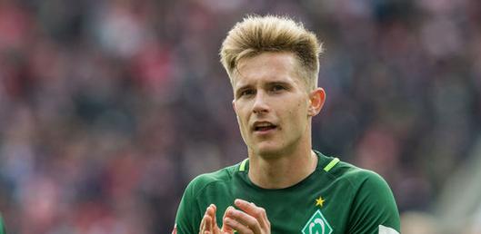 不莱梅锋线小将J-艾格施泰因被下放至U23队中