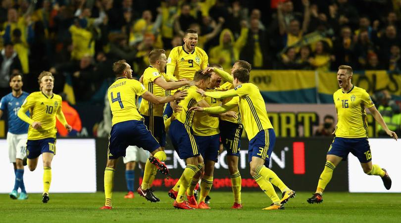 瑞典前锋贝里:瑞典现在还不是晋级热门