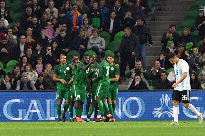 GIF:伊沃比梅开二度!尼日利亚4-2领先阿根廷