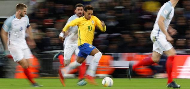 友谊赛:双方破门乏术互交白卷,英格兰0-0逼平巴西